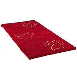 Dog Gone Smart Dirty Dog Doormat, Runner, Maroon