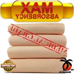 Disposable Underpads Heavy Absorbency WeeWee Puppy Dog Train