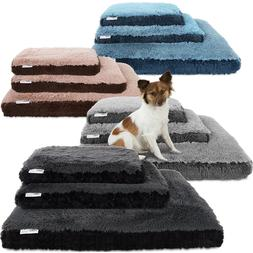 Dog & Cat Pet Bed Bolster Foam Deluxe Bedding Cuddler Fluffy