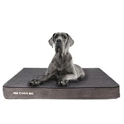 The Dog's Bed, Premium Plush Orthopedic Waterproof Memory