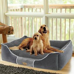 dog bed bolster jumbo large medium pet