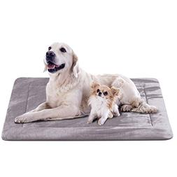 JoicyCo Extra Large Dog Bed Crate Pad Mat Soft Mattress 47 i