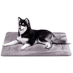 Large Dog Bed Crate Pad Mat Soft Mattress 42 In- Anti-Slip 1