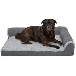 FurHaven Pet Dog Bed | Deluxe Cooling Gel Memory Foam Orthop