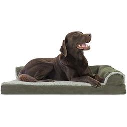 dog bed deluxe orthopedic faux