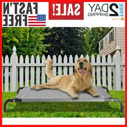 Extra Large Dog Bed Elevated Pet Cot Indoor Raised Outdoor S