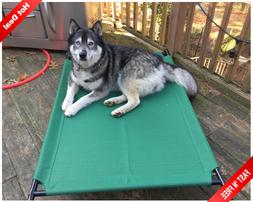 Dog Bed Frame Extra Large Elevated Heavy Duty Luxury Metal F