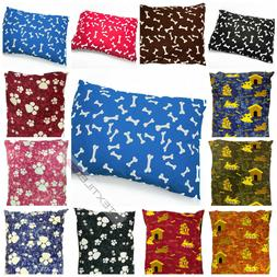DOG BED LARGE SIZE REMOVABLE ZIPPED COVER WASHABLE PET BED C