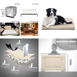 Dog Bed Mat Comfortable Soft Crate Pad Anti Slip Machine Was