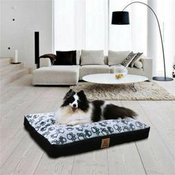 Dog Bed Mat Comfortable Soft Crate Pad Anti-Slip Machine Was