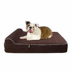 Dog Bed Orthopedic Memory Foam Kopeks Waterproof Pillow For