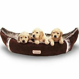 JOYELF Medium Dog Bed Orthopedic with Removable Washable Cov