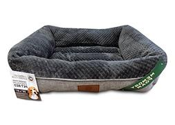 Dog Bed with Memory Foam Extra Cozy Super Soft Durable Mattr