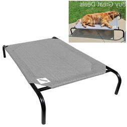 Extra Large Dog Bed Outdoor Raised Pet Cot Elevated Indoor D