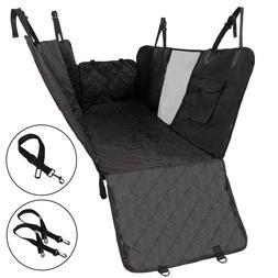 Dog Car Seat Covers Hammock for Cars/Trucks/SUV Back Seats w