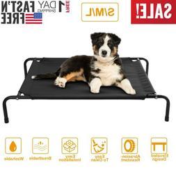Dog Cat Bed Elevated Pet Cot Indoor Outdoor Camping Steel Fr