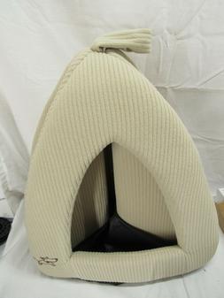 Pet Dog Cat Bed House Tent Medium Soft Puppy Portable Mat Pa