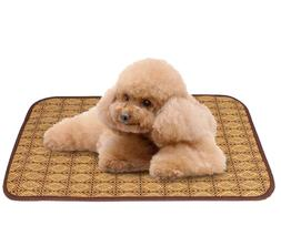 Dog Cat Bed Mat Fleece Crate Machine Washable Pet Bed Liner