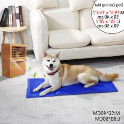 Pet Cool Gel Mat Dog Cat Bed Non-Toxic Cooling Dog Summer Pa