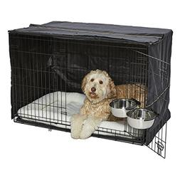 iCrate Dog Crate Starter Kit | 48-Inch Dog Crate Kit Ideal f
