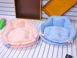Medium Dog Bed New Cute Princess Soft&cozy Pet Dog Cat Sofa