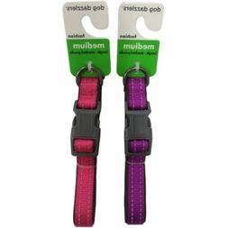 Dog Dazzlers Cushion Collar Purple/Pink, M
