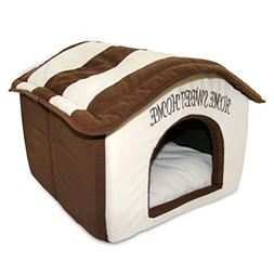Pet Supplies Dog House Puppy Sweet Home Cat Bed Shelter Cush