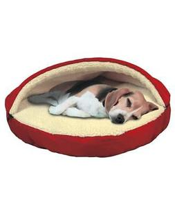 DOG OR CAT LUXURIOUS COZY PET CAVE PET BED REMOVABLE ZIPPERE