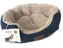 "Dog Pet Bed American Kennel Club 22x18x8"" Machine Washable D"