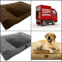dog pet bed x large memory foam