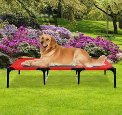 """XLarge 48"""" Dog Cat Pet Elevated Raised Bed Puppy Cot Oxford"""