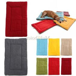 Dog Pet Crate Kennel Warm Bed Mat Padding Colorful 5 Size Fo