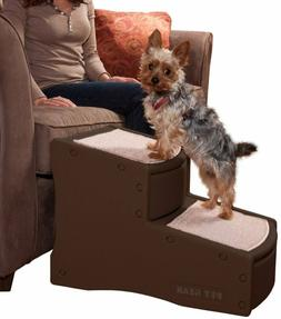Dog Pet Stairs Steps Non Slip Portable Carpeted For Small &