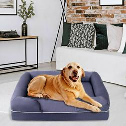 Dog Sofa Pet Bed Lounge Solid Memory Foam Comfortable Small/