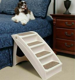 Dog Steps Folding Pet Stairs Portable Great for Dogs Stairs