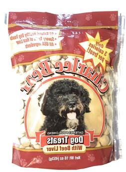 Charlee Bear Dog Treats With Beef Liver 16 oz  Bag