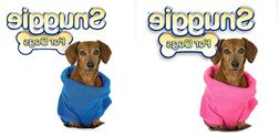 Snuggie for Dogs Small Blanket Coat With Sleeves - Choose PI
