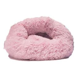 Friends Forever Premium Donut Bolster Orthopedic Dog Bed for