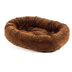 Bowsers Donut Dog Bed, Microvelvet Urban Animal, X-Small 22""
