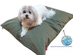 Durable Comfort Pet Dog Micro-cushion Memory Foam Pillow Bed