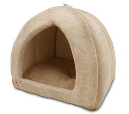 Durable Dog Beds for Large Dogs Pets Warm Puppy Covered Pet