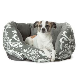 "Best Friends by Sheri Dutchess Cuddler Dog Bed size: 18""L x"