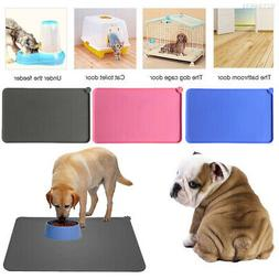 E2BB 47*30cm Pet Feed Placemat Bed Pee Pads Creative Dog Foo