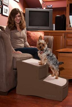 Pet Gear Easy Step II Dog Cat Stairs, Ladder for Couch or Be