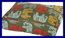 Molly Mutt Elephant Parade Dog Bed Duvet Cover, Huge - 100%