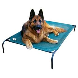 Elevated Indoor/Outdoor Pet Cot for Large Breeds Color: Brun
