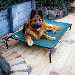 Coolaroo Elevated Pet Bed with Breathable Fabric, Large 51.1