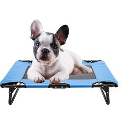 Elevated Pet Bed Puppy Dog Cot Hammock Folding Frame Ventila