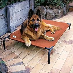 Extra Large Dog Bed Elevated Outdoor Raised Pet Cot Indoor D