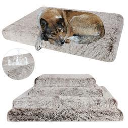 Extra Large Dog Bed Pet Orthopedic Foam Ultra Plush Calming